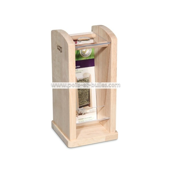 LIVING WORLD Green Ratelier en bois ~ Rongeur De Bois