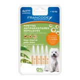 FRANCODEX Pipettes insectifuge chiot / petits chiens