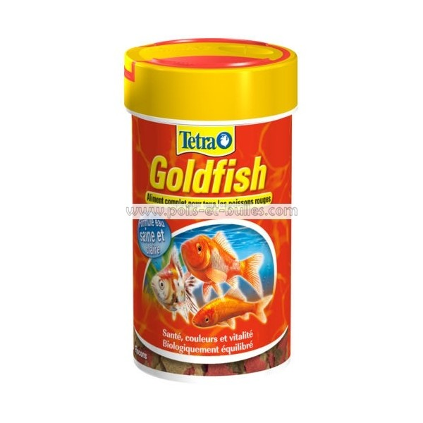 Aliment tetra golgfish pour poisson rouge for Alimentation poisson rouge adulte